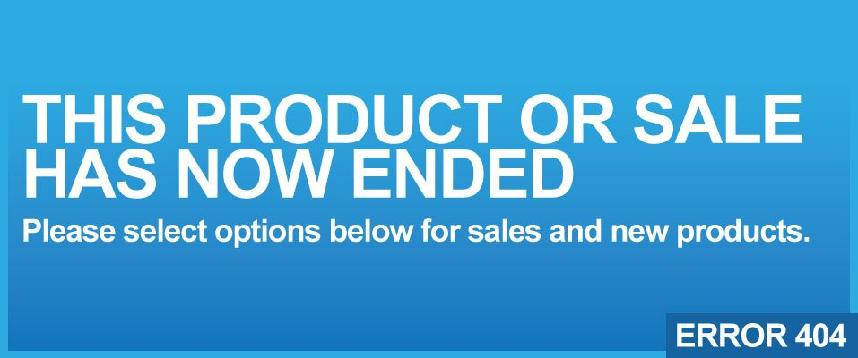 Sorry, our product or Sale has ended