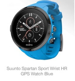 Suunto Spartan Sport Wrist HR GPS Watch Blue