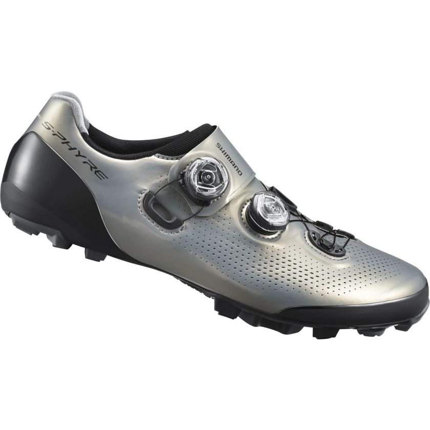 S-Phyre E-Width MTB Shoes Silver Wide Fit