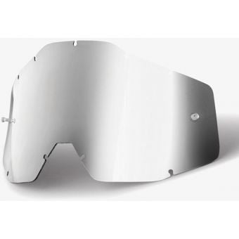 100% Replacement Youth Anti-Fog Lens Mirror Silver