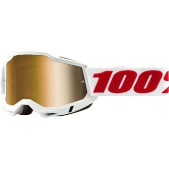 100% Accuri 2 MTB Goggles Denver/True Gold Lens