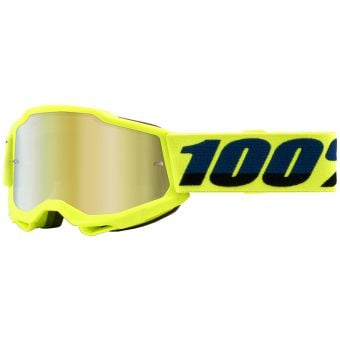 100% Accuri 2 Youth Goggles Yellow (Mirror Gold Lens)