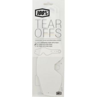 100% Accuri Youth Standard Tear-Offs (20 Pack)
