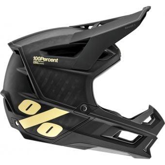 100% Aircraft 2 Helmet Black/Light Yellow