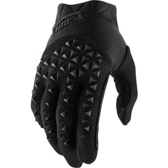 100% Airmatic Gloves Black/Charcoal 2021 Youth