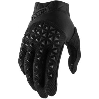 100% Airmatic Gloves Black/Charcoal 2021