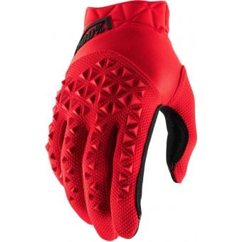 100% Airmatic Gloves Red/Black 2021 Youth