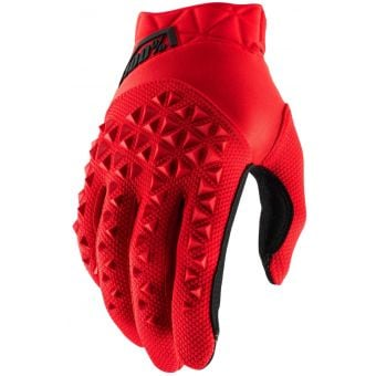 100% Airmatic Gloves Red/Black 2021