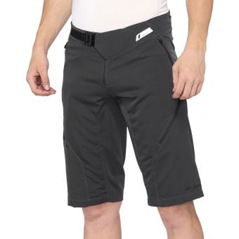 100% Airmatic Shorts Charcoal Size 2021
