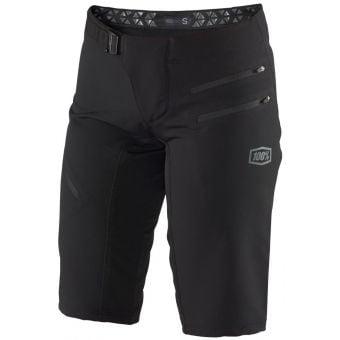 100% Airmatic Womens Shorts Black 2021
