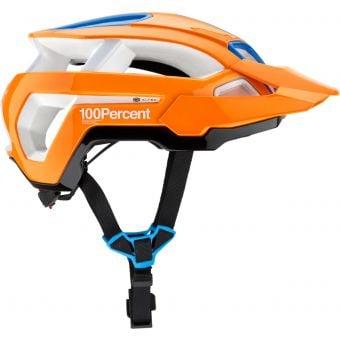 100% Altec Helmet w/Fidlock Neon Orange