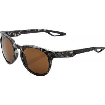 100% Campo Sunglasses Matte Black Havana (Bronze Lens)
