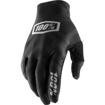 100% Celium 2 Gloves Black/Silver 2020