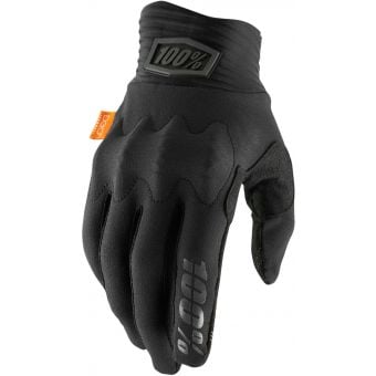 100% Cognito Gloves Black/Charcoal 2021
