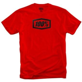 100% Essential T-Shirt Red 2020 Small