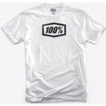 100% Essential T-Shirt White 2019
