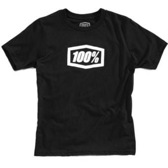 100% Essential Youth T-Shirt Black 2021