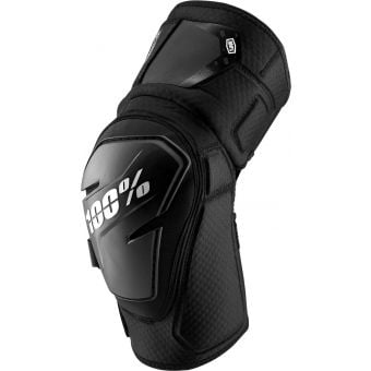 100% Fortis Knee Guards Black