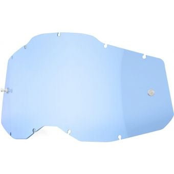 100% RC2/AC2/ST2 Replacement Lens Blue