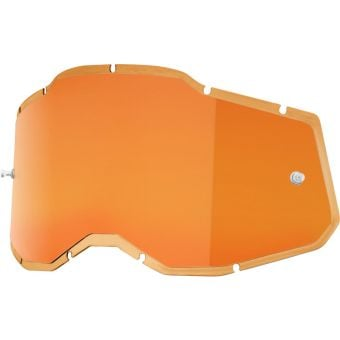 100% RC2/AC2/ST2 Replacement Lens Injected Persimmon