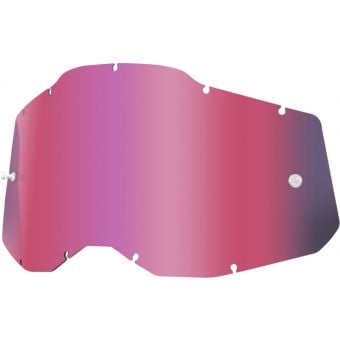 100% RC2/AC2/ST2 Replacement Lens Pink