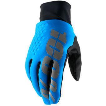 100% Hydromatic Brisker Gloves Blue