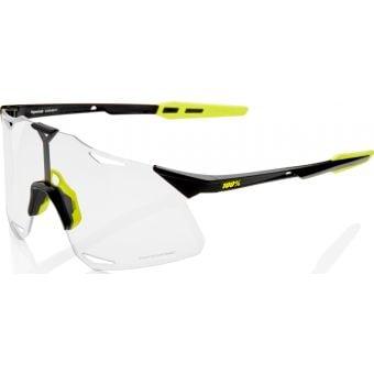 100% Hypercraft Sunglasses Gloss Black 2021 (Photochromic Lens)
