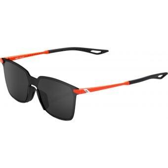 100% Legere Square Sunglasses Matte Oxyfire 2021 (Black Mirror Lens)