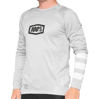 100% R-Core LS Youth Jersey Vapor/White 2021