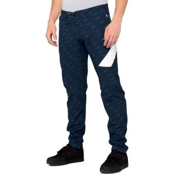 100% R-Core X Limited Edition Pants Navy/White 2020
