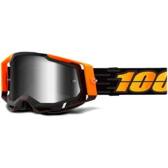 100% Racecraft 2 MTB Goggles Costume 2/Mirror Silver Lens