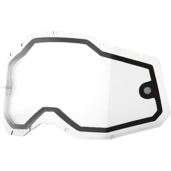 100% RC2/AC2/ST2 Replacement Lens Dual Pane Clear