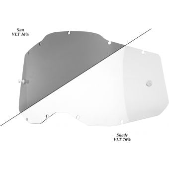 100% RC2/AC2/ST2 Replacement Lens Photochromic