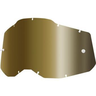 100% RC2/AC2/ST2 Replacement Lens True Gold