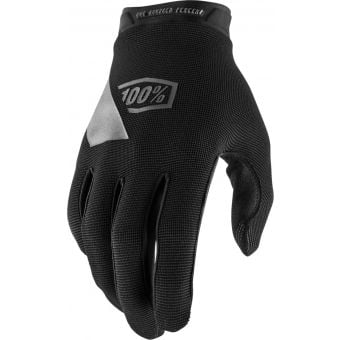 100% Ridecamp Gloves Black 2021 Youth