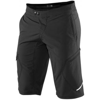 100% Ridecamp Youth MTB Shorts Black 2021