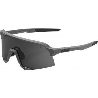 100% S3 Sunglasses Matte Cool Grey/Smoke Lens