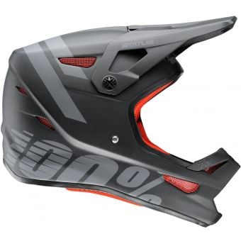 100% Status DH/BMX Youth Helmet Black Meteor