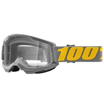 100% Strata 2 Goggles Izipizi Grey/Orange (Clear Lens)