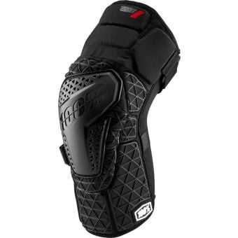 100% Surpass Knee Guards Black