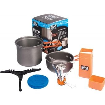 360 DEGREES 360 Furno Stove & Pot Set