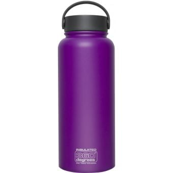 360 Degrees Vacuum Insulated Stainless Steel Bottle Wide Mouth 1L