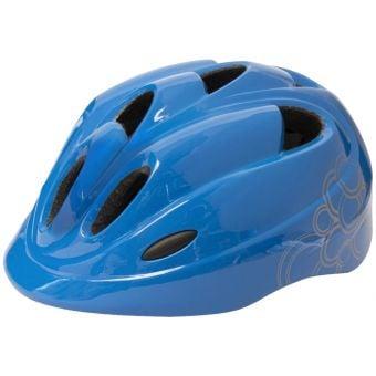 Azur J36 Juvenile Helmet Swirls Blue