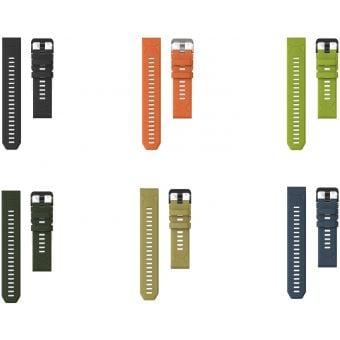 Coros Vertix Replacement Silicone Wrist Band Black