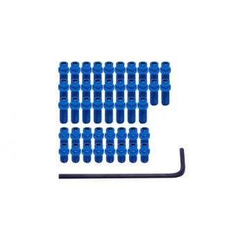 DMR Flip Pin Set For Vault Pedals Blue