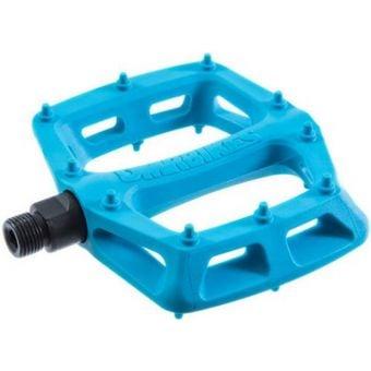 DMR V6 Plastic Pedals Blue