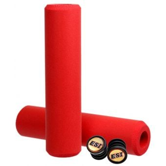 ESI Grips Racer's Edge MTB Silicone Grips Red