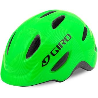 Giro Scamp Youth Helmet Lime Green Youth X-Small