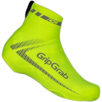 Grip Grab Race Aero Shoe Cover Hi-Vis Yellow Unisize