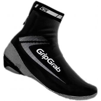 Grip Grab Race Aqua Shoe Covers Black